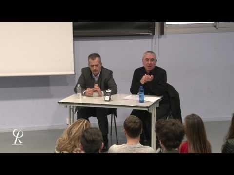 Yves Panis et Robert Maggiori au lycée // Le progrès