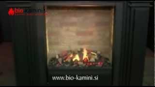 Električni kamini - kaminski vložki Mystic fires