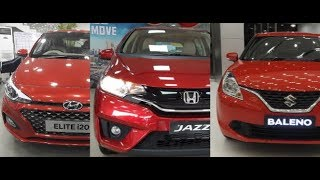 Hyundai i20 Vs Honda Jazz Vs Maruti Baleno 2018 || Manual || AMT(CVT) || Automatic Cars