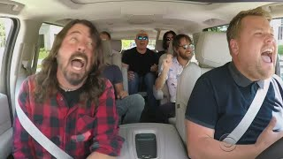 Dave Grohl Of Foo Fighters Does 'Carpool Karaoke'