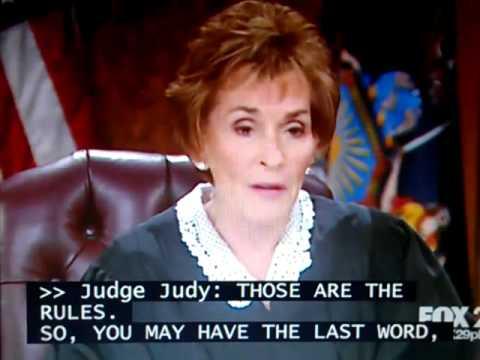 win a trip to meet judge judy