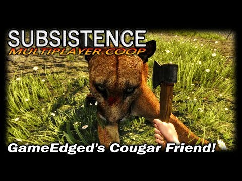 GameEdged's Cougar Friend! | Subsistence CO-OP Multiplayer Gameplay | EP 65