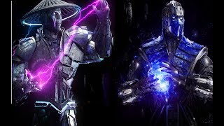 Sub-Zero and Raiden 85 hits combo «  highest hits combo  - injustice 2 »