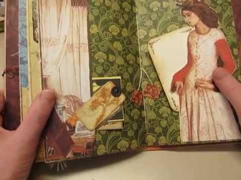 """""""Renaissance Faire"""" Junk Journal-SOLD"""