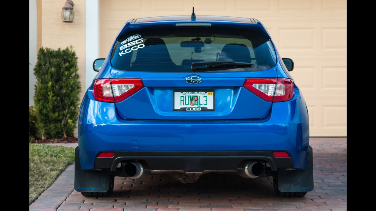 2014 Subaru WRX Hatch Invidia N1 Street Catback + Catless ...