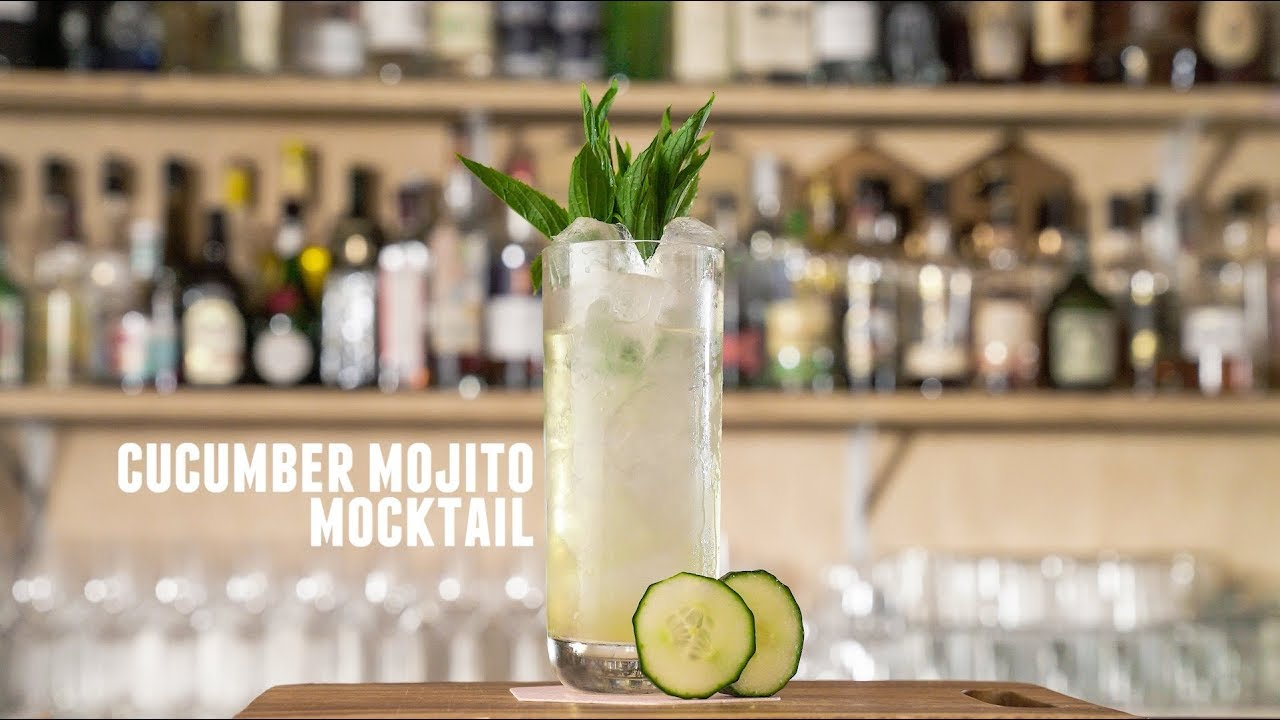How To Make A Cuber Mojito Mocktail