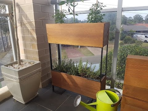 How to make planter boxes