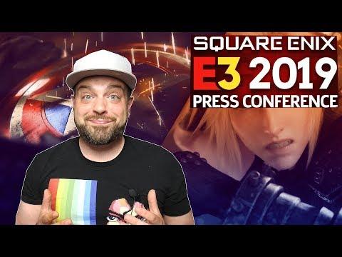 Square Enix E3 2019 REACTION - HOLY S***!