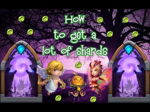 Castle Clash: How To Get A Lot Of Shards!!!