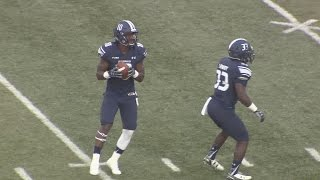 ODU rallies past Charlotte 37-34 behind David Washington's 4 TD passes