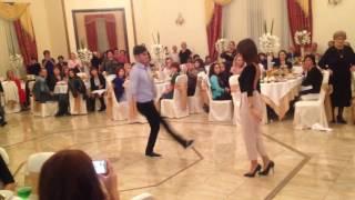 Грузинский танец Ачарули на кабардинской свадьбе