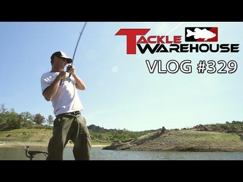 Swimbait Fishing On Santa Margarita Lake With Matt Newman Pt. 3 - Tackle Warehouse VLOG #329