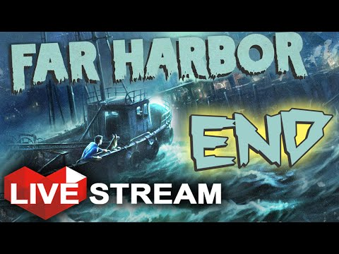 Fallout 4: Far Harbor ENDING | Power to Nuke Far Harbor or Save it | Gameplay Live Stream