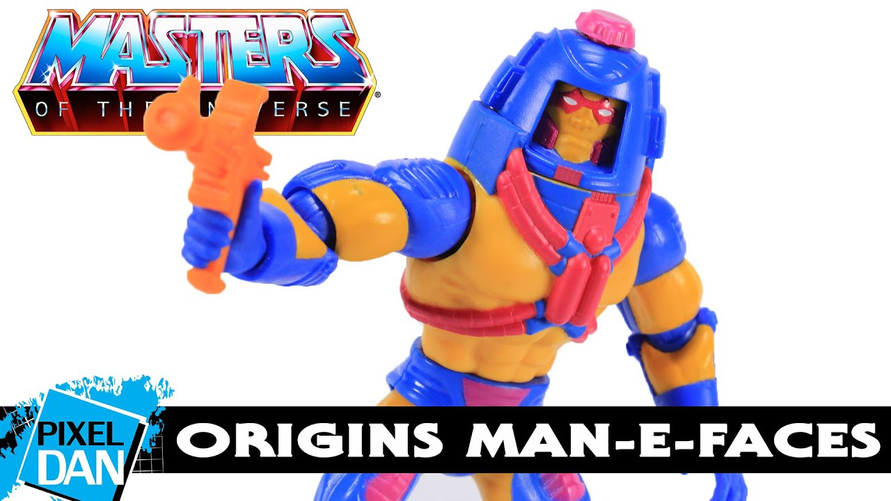 He-Man And The Masters Of The Universe Man-E-Faces Figure MOTU Vintage 1982