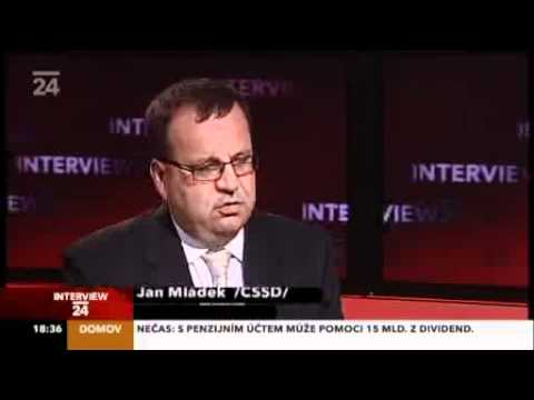 Jan Mládek hostem pořadu Interview ČT - 19.7.2011