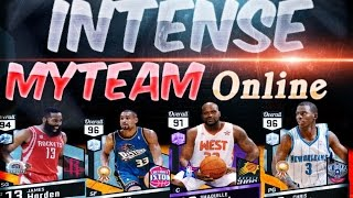 Thriller Game Nba 2k17 Myteam ONLINE! Amethyst Shaq is an ANIMAL in the PAINT! Intense Finish
