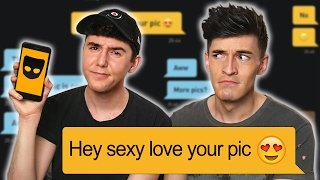 STRAIGHT GUY TRIES GRINDR