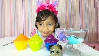 Syeza Unboxing Cupcake Surprise Pet Bisa Berubah Warna Gak Yaa?