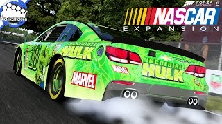 fm6 nascar expansion 20 hulk im raii ge mode let s play fm6 nascar expansion