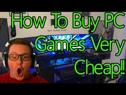 How To Buy PC Games For Cheap!