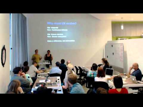 Lean UX Workshop featuring Lane Halley and Jaime Levy