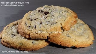 EASY Large Sweet And Salty Chocolate Chip Cookies Recipe Rev 3