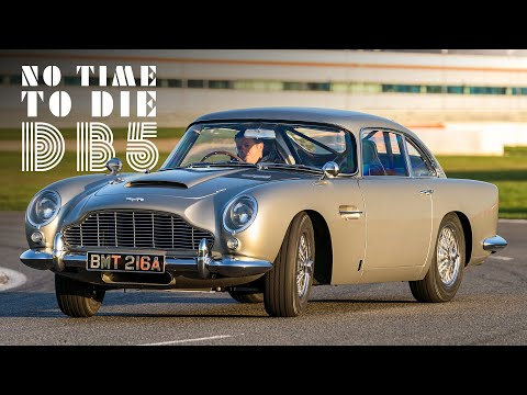"""007's Aston Martin DB5: We Drive James Bond's Car From """"No Time To Die"""" 