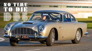 "007's Aston Martin DB5: We Drive James Bond's Car From ""No Time To Die"" 