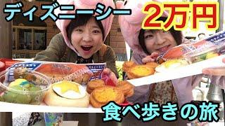 ディズニー ディズニーで気が付いたら2万円食べ歩きの旅 大食い