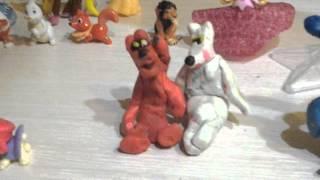 Свадьба игрушек и как сделать складную скамью из бумаги