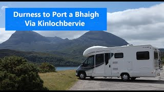 Touring Scotland in a  Motorhome  Durness to Altandhu NC500 #9
