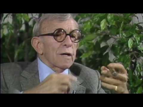 George Burns on Jack Benny, Gracie Allen and the pitfalls of retirement!