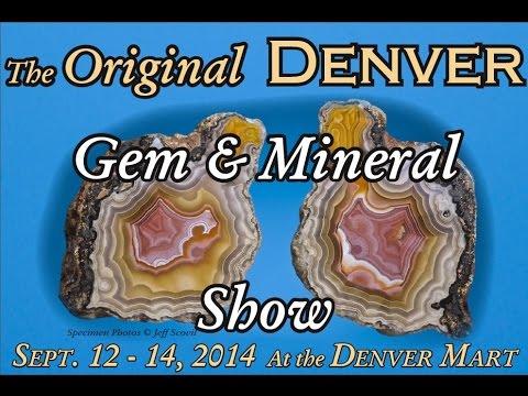 The 2014 Original Denver Gem & Mineral Show: Dealers!