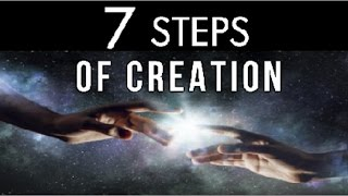 the seven steps of creation for the manifestation of desires the law of evolution