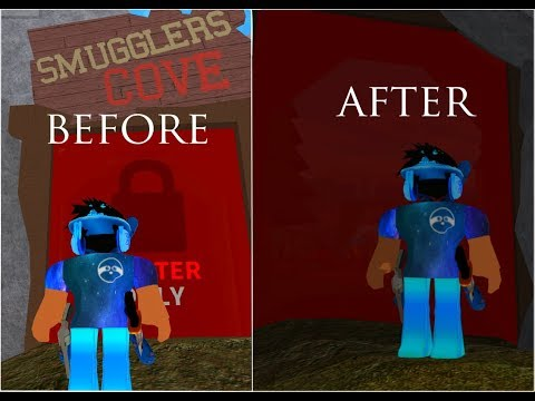 Roblox MMX | How to glitch inside Smugglers Cove *PATCHED*