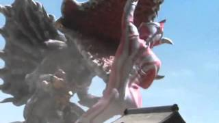 Ultraman Mebius vs Mutated Lesser Bogal 2