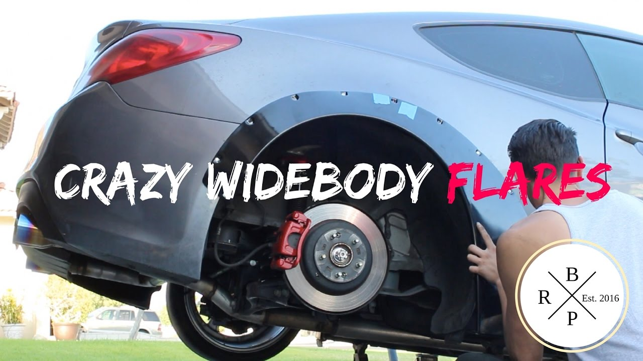 How To Install Fender Flares Widebody Genesis Coupe Pt2