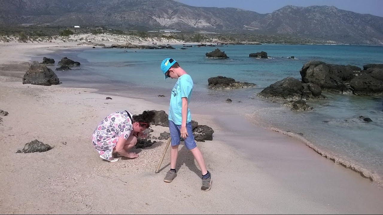 From Balos Beach To Elafonissi Crete Greece 2017 Sd 4x