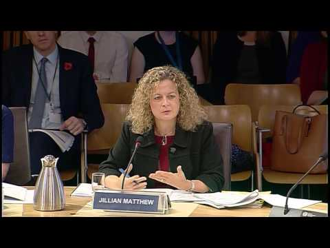Public Audit and Post-legislative Scrutiny Committee - Scottish Parliament: 3rd November 2016