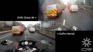 goPro Hero6 vs Drift Ghost 4K Comparison