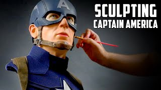 Captain America Sculpture Timelapse - Civil War
