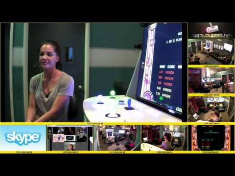 Cabin Fever: Patient Zero's JILLIAN MURRAY  Live Q&A and Donkey Kong Gaming
