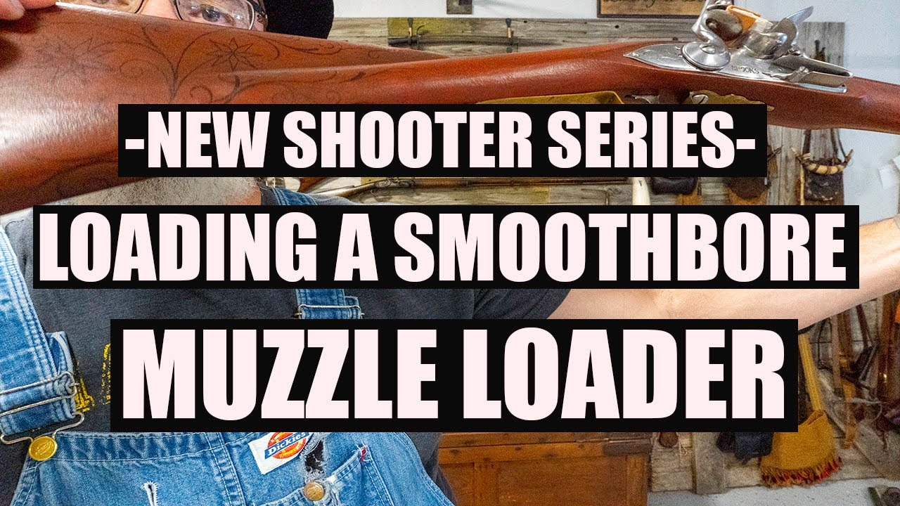 Download LOADING A SMOOTHBORE MUZZLELOADER WITH SHOT