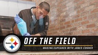 Making Cupcakes with James Conner