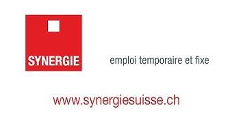 Synergie : Notre métier, c'est l'emploi ! Dans le Nord vaudois et en Romandie.