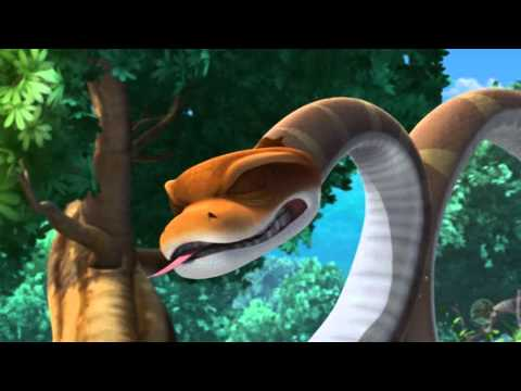 The Jungle Book - Trailer - Baloo Saves Mowgli