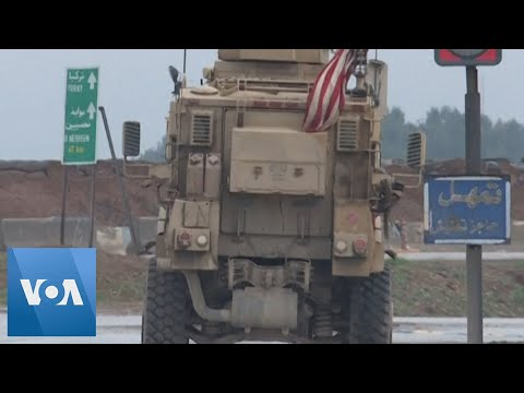 US And Russian Militaries Patrol Along The M4 Highway In Syria