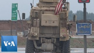 Фото US And Russian Militaries Patrol Along The M4 Highway In Syria