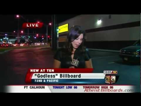 Atheist Billboard - Omaha, NE - Omaha Coalition of Reason - Local news