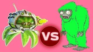 TOXIC CITRON vs YETI - Растения против Зомби: Садовая Война 2